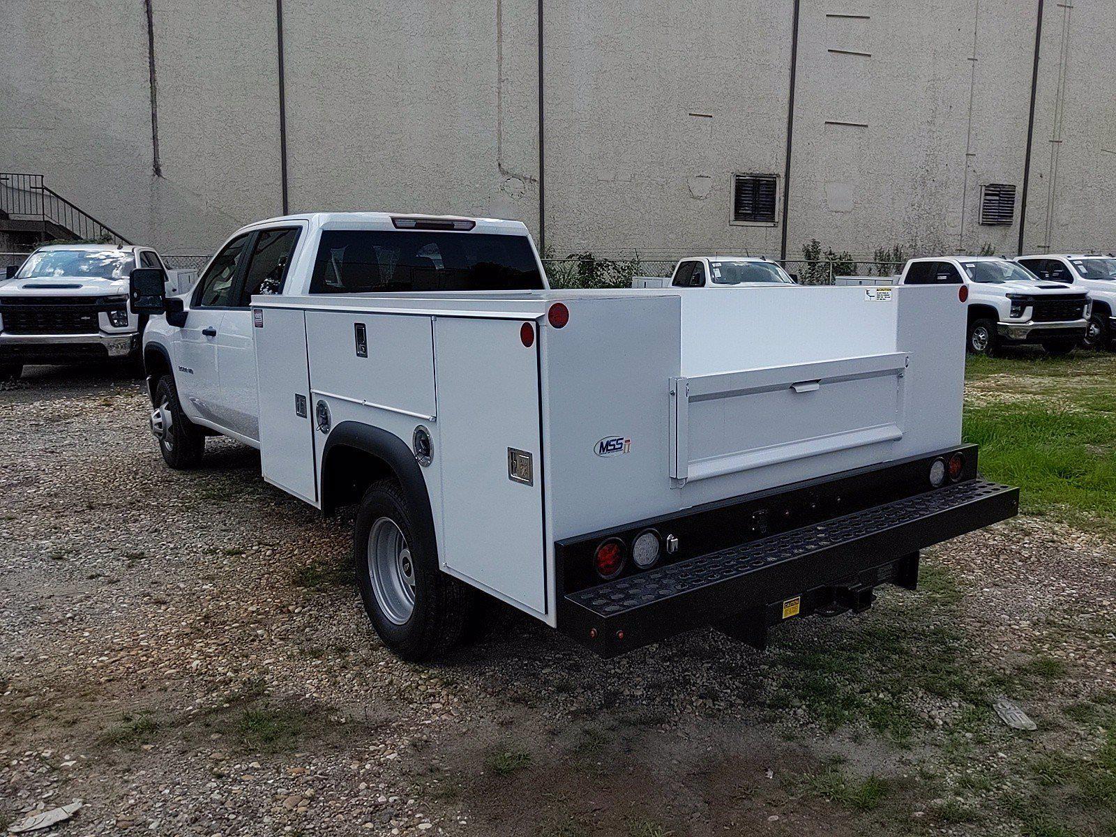 2021 Silverado 3500 Crew Cab 4x2,  Monroe Truck Equipment MSS II Service Body #351030 - photo 2