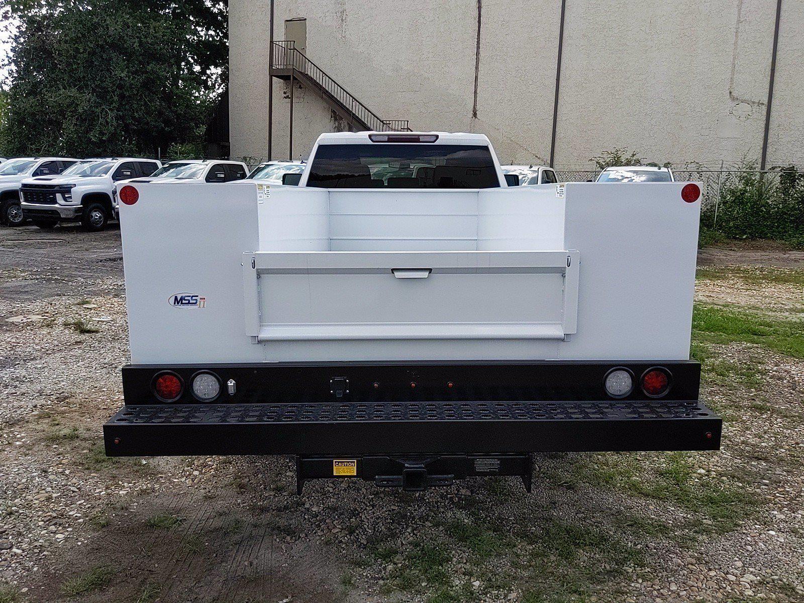 2021 Silverado 3500 Crew Cab 4x2,  Monroe Truck Equipment MSS II Service Body #351030 - photo 5