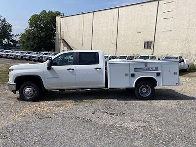 2021 Silverado 3500 Crew Cab 4x2,  Reading Service Body #351033 - photo 4