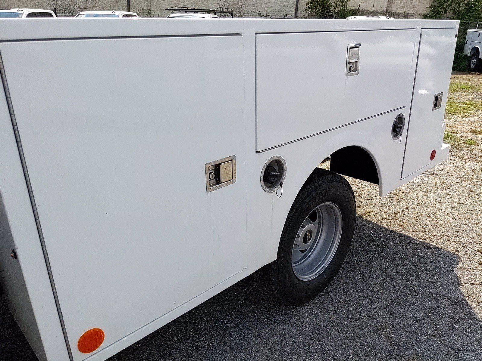 2021 Silverado 3500 Crew Cab 4x2,  Warner Truck Bodies Service Body #351042 - photo 13