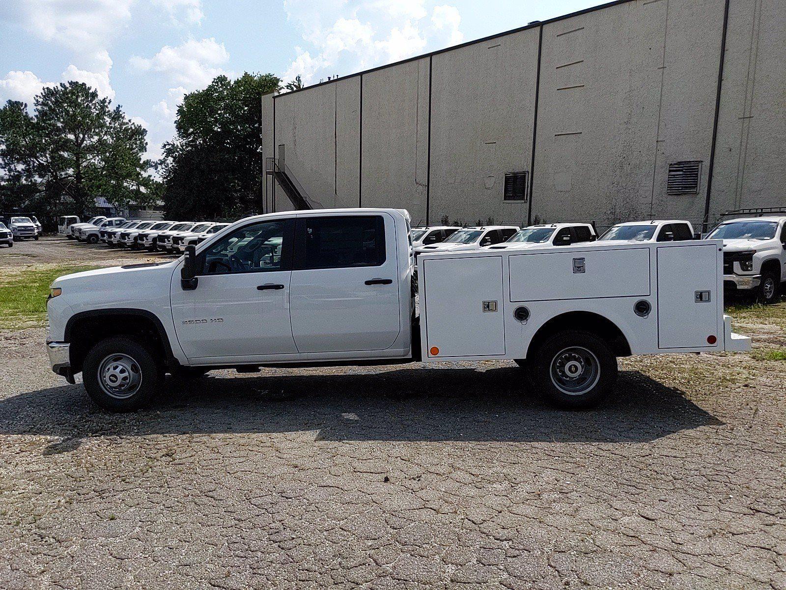 2021 Silverado 3500 Crew Cab 4x2,  Warner Truck Bodies Service Body #351042 - photo 4