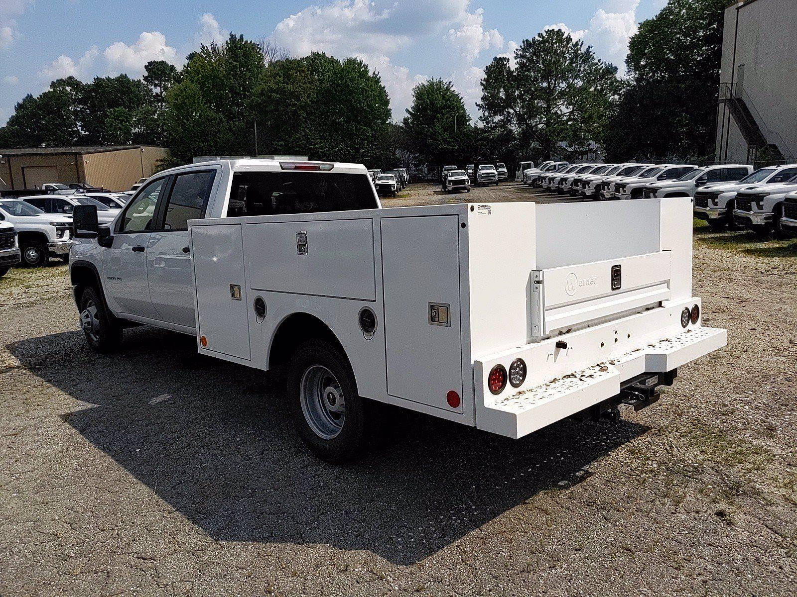 2021 Silverado 3500 Crew Cab 4x2,  Warner Truck Bodies Service Body #351042 - photo 2