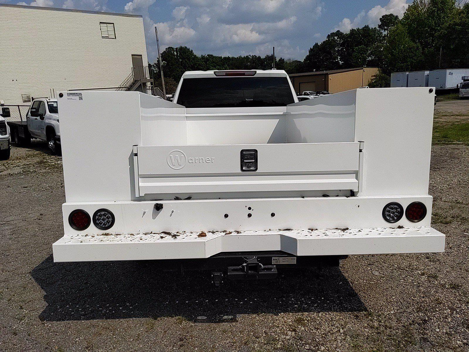2021 Silverado 3500 Crew Cab 4x2,  Warner Truck Bodies Service Body #351042 - photo 5