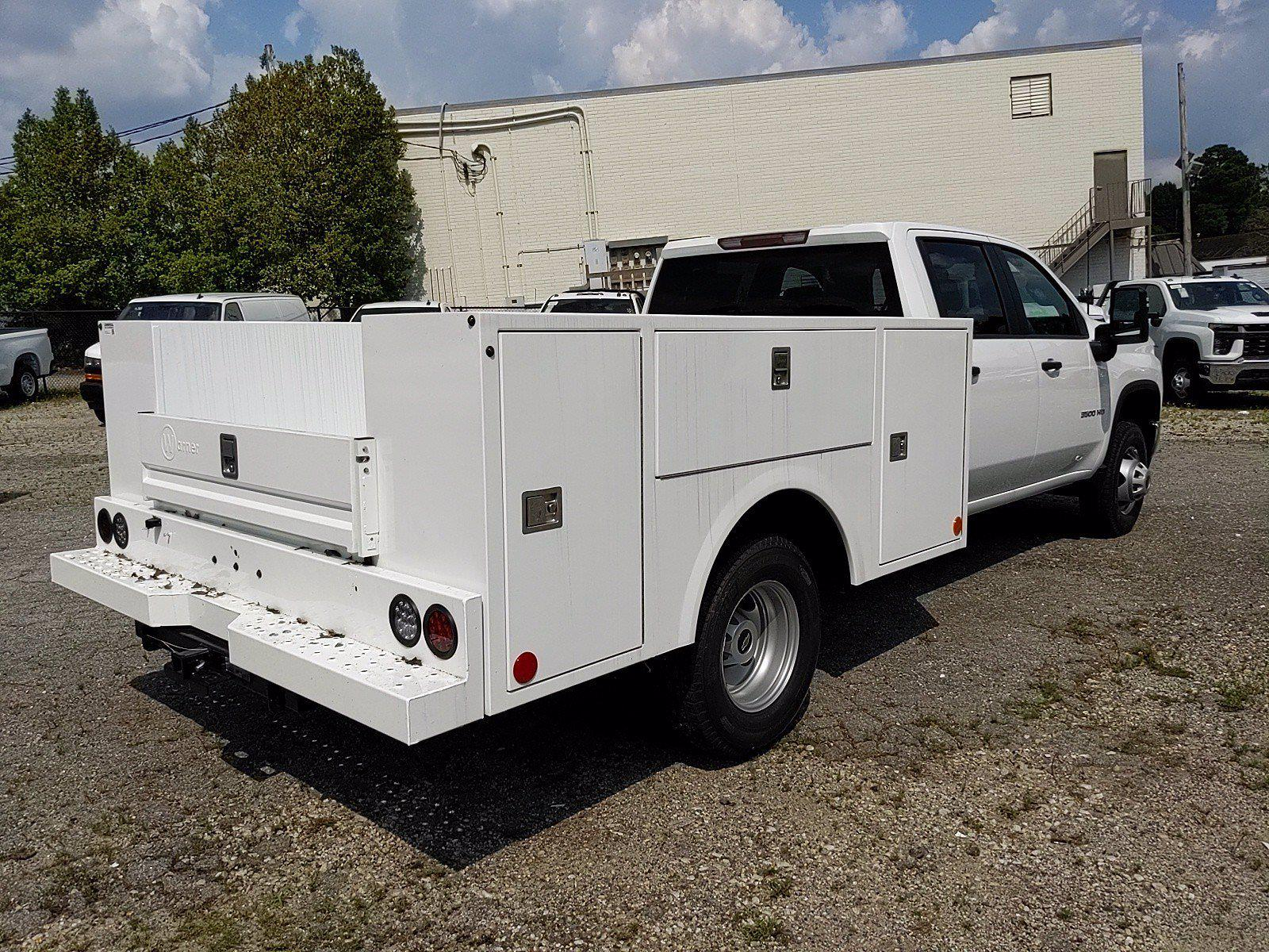 2021 Silverado 3500 Crew Cab 4x2,  Warner Truck Bodies Service Body #351042 - photo 6