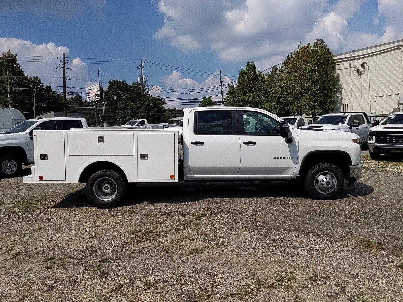 2021 Silverado 3500 Crew Cab 4x2,  Warner Truck Bodies Service Body #351042 - photo 7
