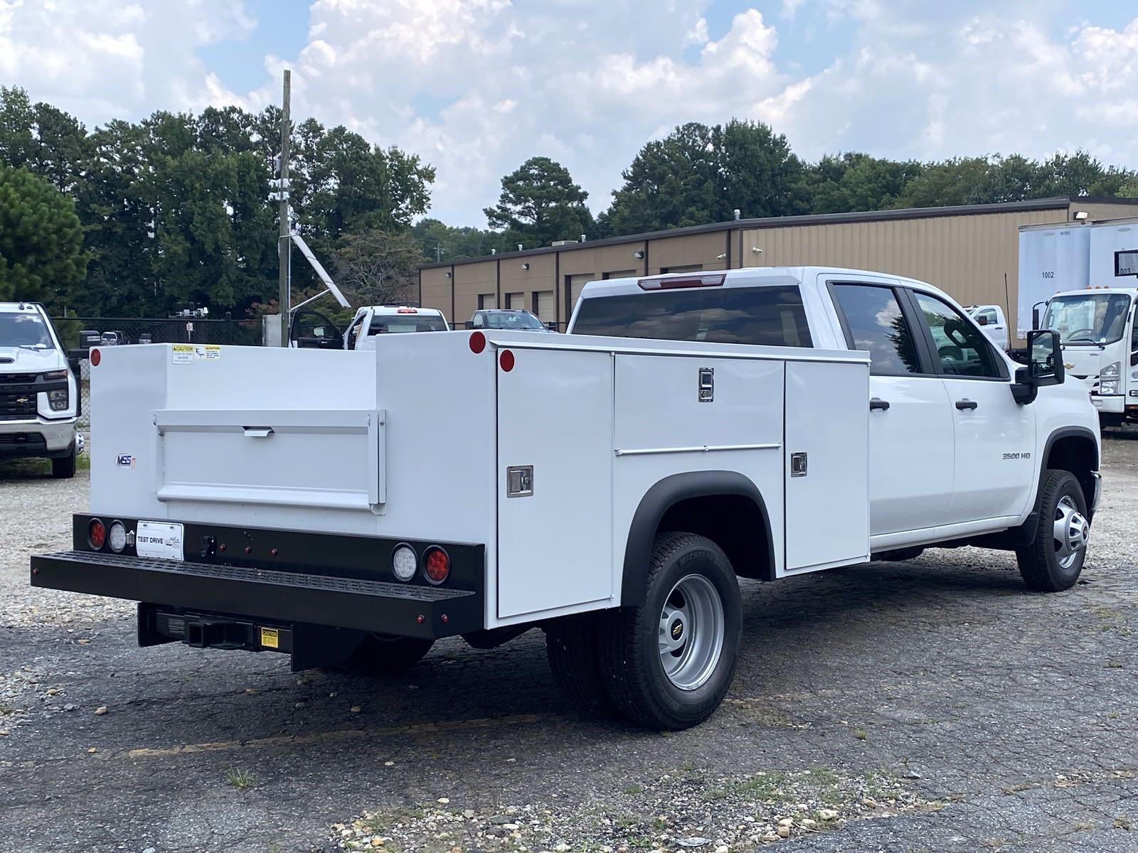 2021 Silverado 3500 Crew Cab 4x2,  Monroe Truck Equipment MSS II Service Body #351049 - photo 2