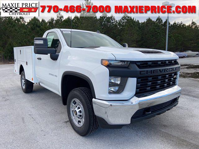 2021 Chevrolet Silverado 2500 Regular Cab 4x2, Warner Select Pro Service Body #211212 - photo 1