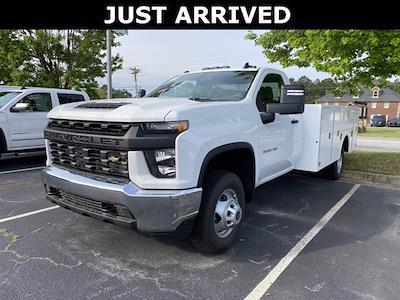 2021 Chevrolet Silverado 3500 Regular Cab 4x2, Warner Select Pro Service Body #211331 - photo 1