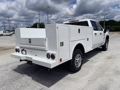 2021 Chevrolet Silverado 2500 Double Cab 4x4, Warner Select Pro Service Body #211386 - photo 2