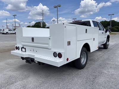 2021 Chevrolet Silverado 3500 Crew Cab 4x4, Warner Service Body #211393 - photo 2
