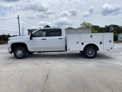 2021 Chevrolet Silverado 3500 Crew Cab 4x4, Warner Service Body #211393 - photo 6