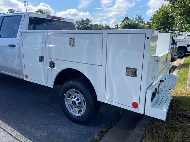 2021 Chevrolet Silverado 2500 Crew Cab 4x2, Warner Service Body #211411 - photo 2