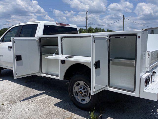 2021 Chevrolet Silverado 2500 Crew Cab 4x2, Warner Service Body #211411 - photo 11