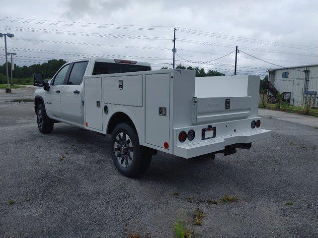 2021 Chevrolet Silverado 2500 Crew Cab 4x4, Warner Select II Service Body #211434 - photo 5