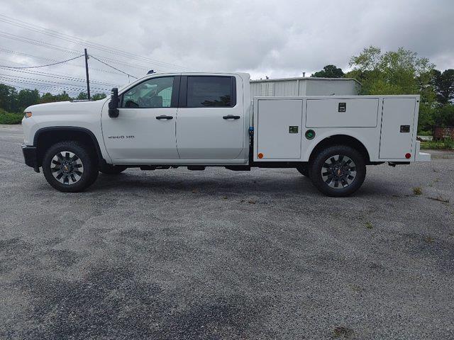 2021 Chevrolet Silverado 2500 Crew Cab 4x4, Warner Select II Service Body #211434 - photo 6