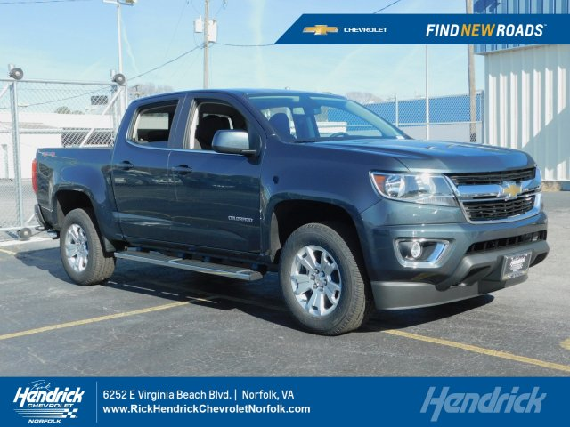 2019 Colorado Crew Cab 4x4 Pickup Stock 190643