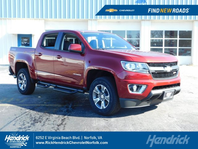 2019 Colorado Crew Cab 4x4 Pickup Stock 190675
