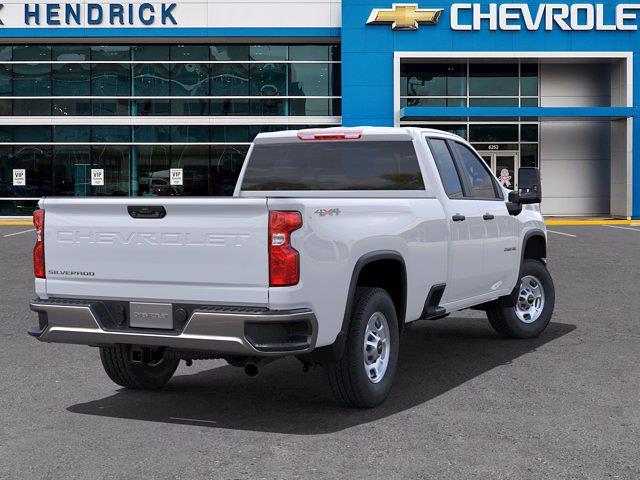 2021 Chevrolet Silverado 2500 Double Cab 4x4, Pickup #CM01029 - photo 2