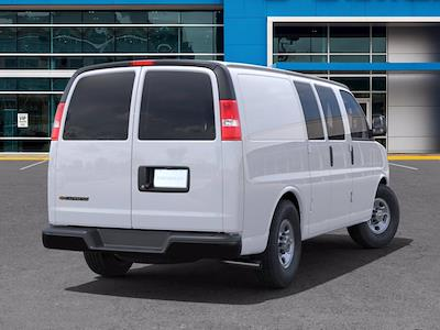 2021 Chevrolet Express 2500 4x2, Empty Cargo Van #CM01133 - photo 2