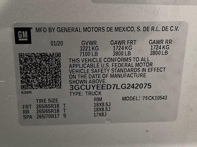 2020 Silverado 1500 Crew Cab 4x4,  Pickup #DM01336A - photo 36