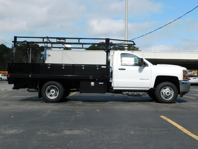 2017 Silverado 3500 Regular Cab DRW 4x2,  Reading Contractor Body #M171173 - photo 3