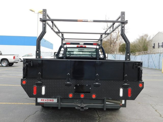 2017 Silverado 3500 Regular Cab DRW 4x2,  Reading Contractor Body #M171173 - photo 4