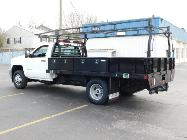 2017 Silverado 3500 Regular Cab DRW 4x2,  Reading Contractor Body #M171173 - photo 5
