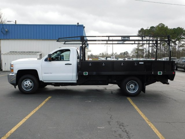 2017 Silverado 3500 Regular Cab DRW 4x2,  Reading Contractor Body #M171173 - photo 6