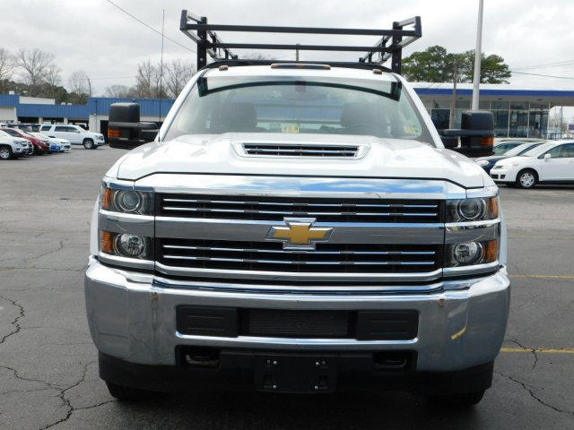 2017 Silverado 3500 Regular Cab DRW 4x2,  Reading Contractor Body #M171173 - photo 8