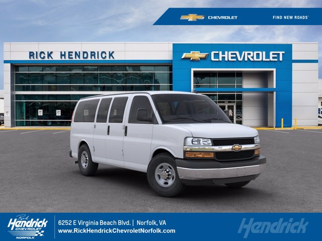 2020 Chevrolet Express 3500 4x2, Passenger Wagon #M201141 - photo 1