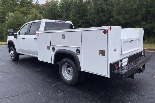 2021 Sierra 3500 Crew Cab 4x2,  Monroe Truck Equipment Service Body #G3S1139 - photo 2