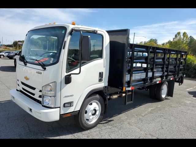 2019 Chevrolet LCF 4500 Regular Cab RWD, K&K Manufacturing Stake Bed #8011 - photo 1