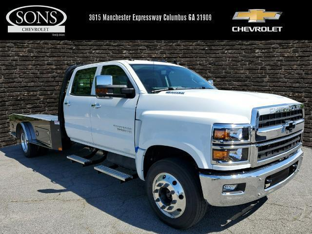 2019 Chevrolet Silverado 6500 Crew Cab DRW RWD, CM Truck Beds Hauler Body #8106 - photo 1