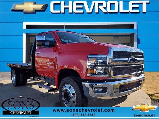 2020 Chevrolet Silverado 5500 Regular Cab DRW 4x2, Rugby Platform Body #8469 - photo 1