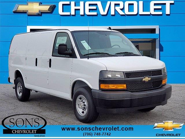 2021 Chevrolet Express 2500 4x2, Masterack Upfitted Cargo Van #9367 - photo 1