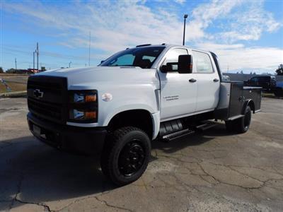 2020 Chevrolet Silverado 6500 Crew Cab DRW 4x4, CM Truck Beds Platform Body #155521 - photo 6