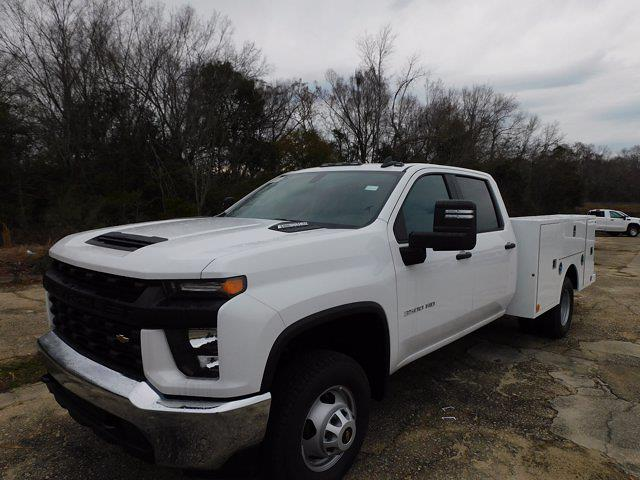 2020 Chevrolet Silverado 3500 Crew Cab DRW 4x4, Service Body #324943 - photo 4