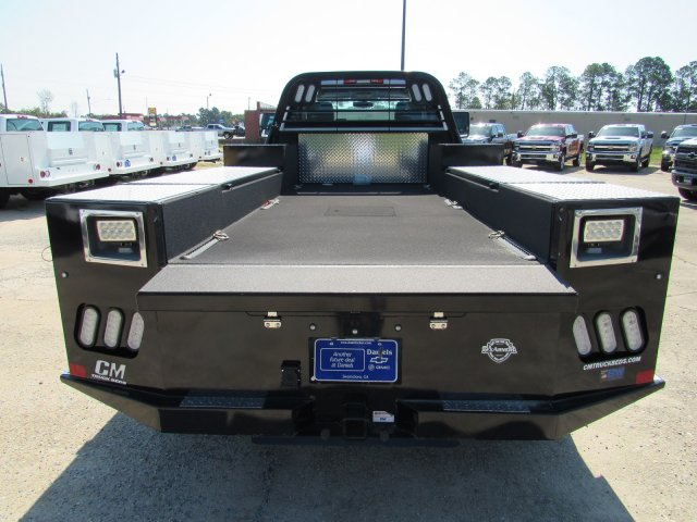 2019 Chevrolet Silverado 5500 Regular Cab DRW 4x2, CM Truck Beds Platform Body #863602 - photo 1