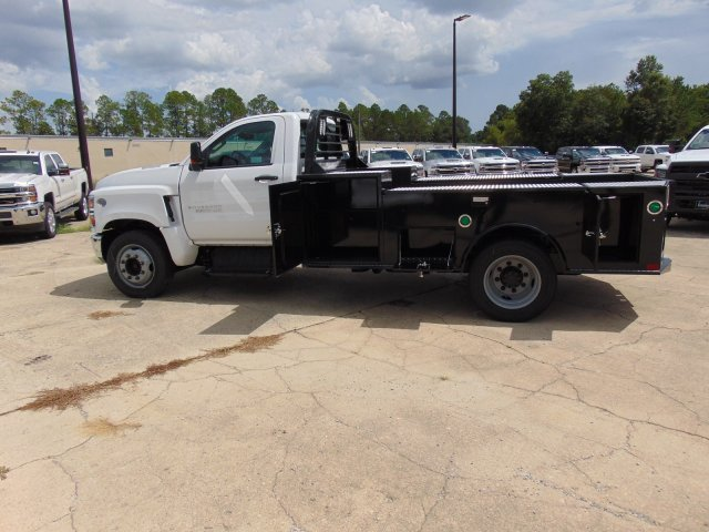 2019 Chevrolet Silverado 5500 Regular Cab DRW 4x2, CM Truck Beds TM Deluxe Platform Body #863602 - photo 7