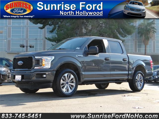 2018 Ford F-150 SuperCrew Cab 4x4, Pickup #,nB27716 - photo 1