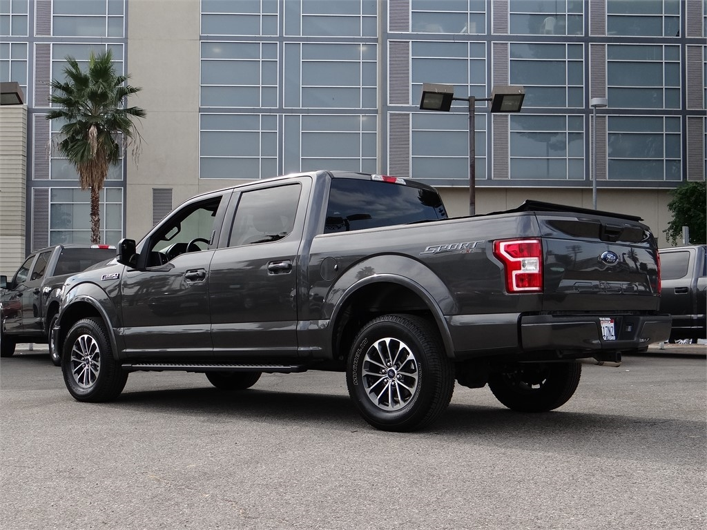 2018 Ford F-150 SuperCrew Cab 4x4, Pickup #B27584 - photo 2