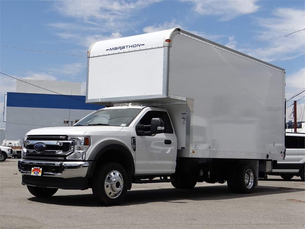 2020 Ford F-550 Regular Cab DRW 4x4, Marathon FRP Dry Freight #G00607 - photo 1