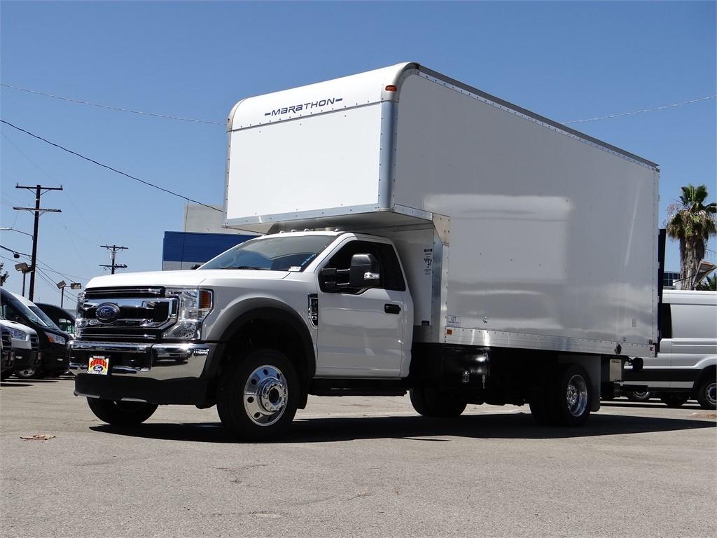 2020 Ford F-550 Regular Cab DRW 4x4, Marathon Dry Freight #G00644 - photo 1