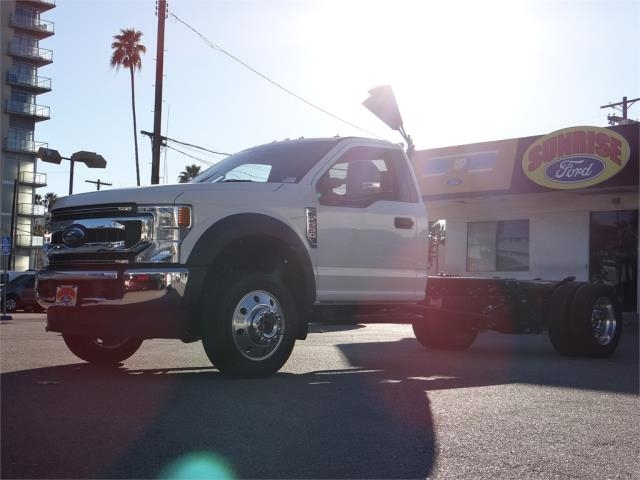 2020 F-550 Regular Cab DRW 4x4, Cab Chassis #G00654 - photo 1