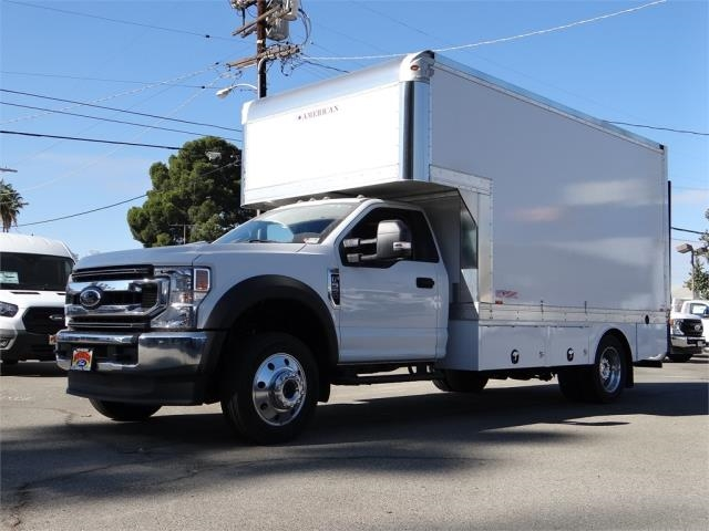 2020 Ford F-550 Regular Cab DRW 4x4, American Truck Bodies Dry Freight #G00654 - photo 1