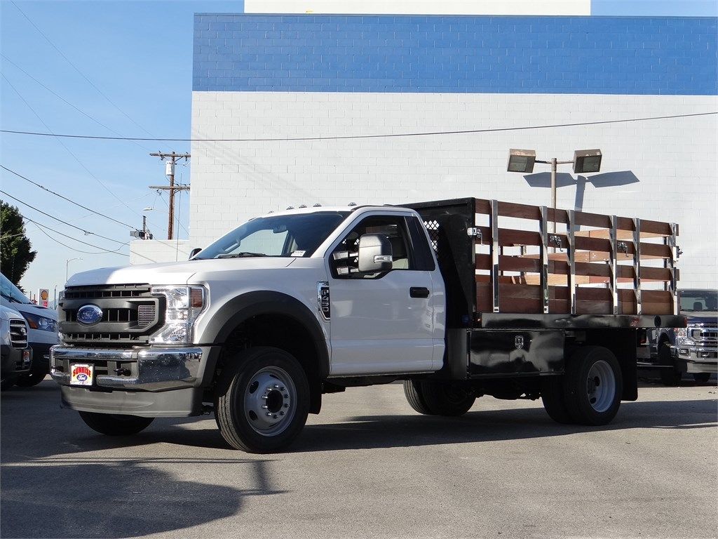 2020 Ford F-450 Regular Cab DRW 4x2, Harbor Stake Bed #G00922 - photo 1