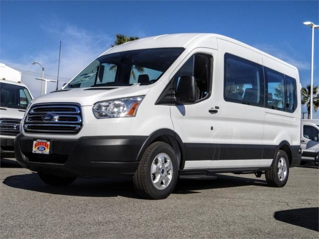 2019 Transit 350 Med Roof 4x2, Passenger Wagon #G01133T - photo 1