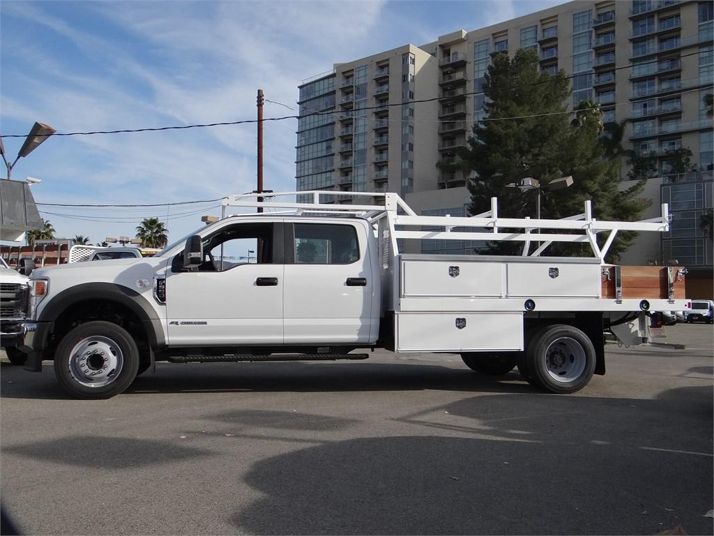 2020 Ford F-550 Crew Cab DRW 4x2, Harbor Standard Contractor Body #G01157 - photo 3