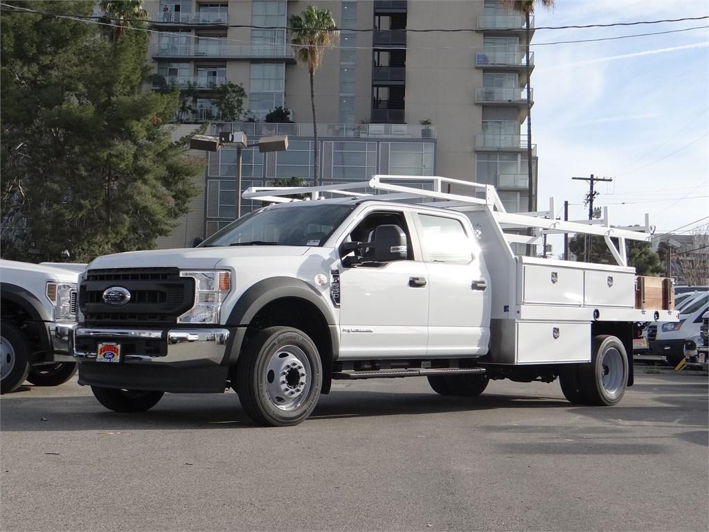 2020 Ford F-550 Crew Cab DRW 4x2, Harbor Contractor Body #G01157 - photo 1
