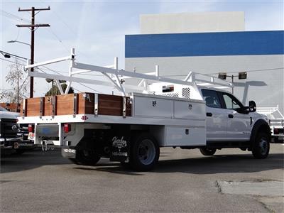 2020 Ford F-550 Crew Cab DRW 4x2, Harbor Standard Contractor Body #G01157 - photo 2